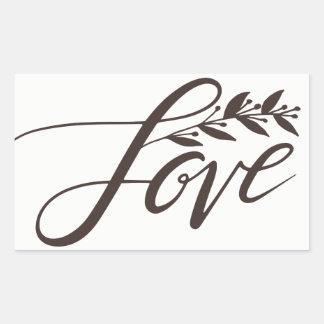 Etiqueta do amor