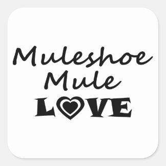 Etiqueta do amor da mula de Muleshoe
