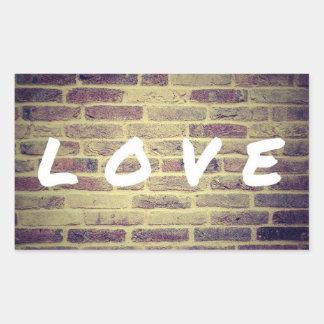 Etiqueta do amor do activismo