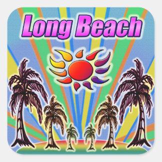 Etiqueta do amor do verão de Long Beach