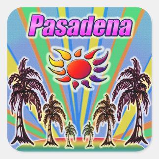 Etiqueta do amor do verão de Pasadena