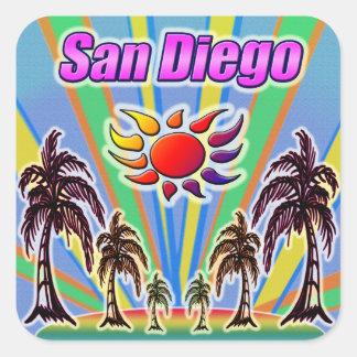 Etiqueta do amor do verão de San Diego