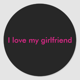 Etiqueta do amor para seu namorada