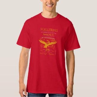 Etiqueta do aniversário de Scallywags 18a (2015) Camisetas