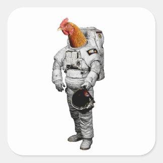 Etiqueta do astronauta de Huhn
