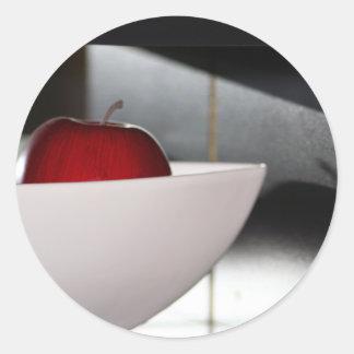Etiqueta do barco de Apple