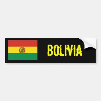 Etiqueta do bumber de Bolívia Adesivo Para Carro