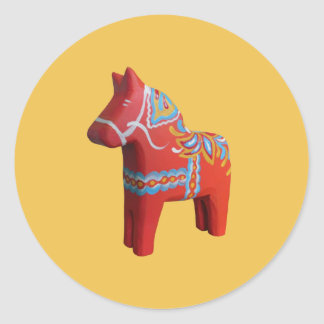 Etiqueta do cavalo de Dala
