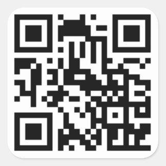 Etiqueta do código de QR