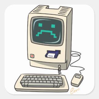 Etiqueta do computador