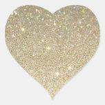 Etiqueta do coração adesivos em forma de corações