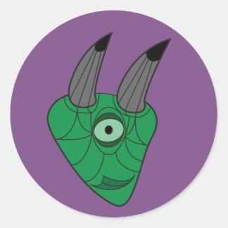 Etiqueta do costume do ogre