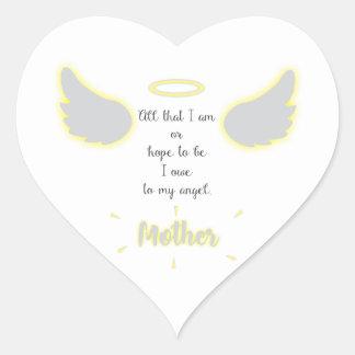 Etiqueta do dia das mães