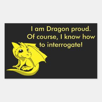 Etiqueta do dragão de Chibi