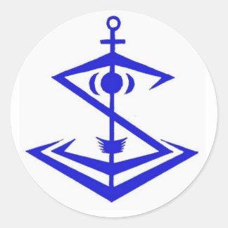 Etiqueta do emblema de Snipentology Adesivo
