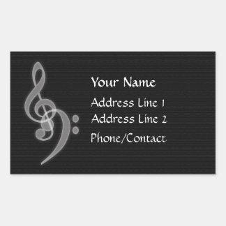 Etiqueta do endereço da música