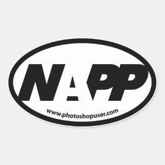 Etiqueta do euro de NAPP Adesivos Ovais