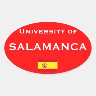 Etiqueta do Europeu-estilo de Salamanca Adesivo Oval