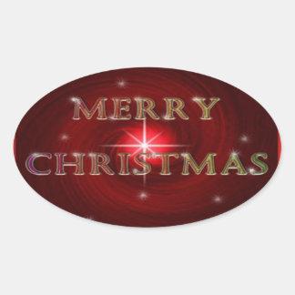 Etiqueta do Feliz Natal
