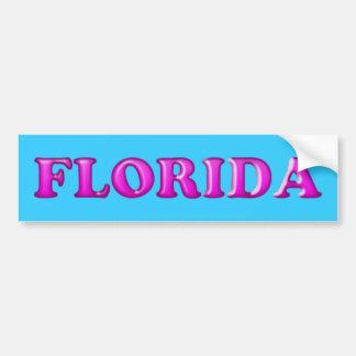 Etiqueta do Florida-Pára-choque Adesivo Para Carro