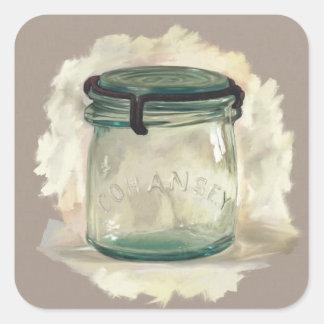 Etiqueta do frasco de pedreiro