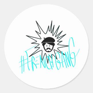 Etiqueta do #FrenchGang de James Paris