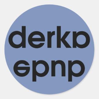 Etiqueta do gajo de Derka