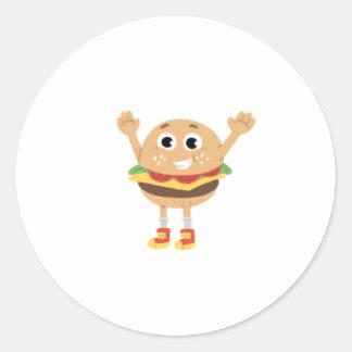 Etiqueta do hamburguer de Angus