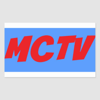 Etiqueta do impressão de MCTV
