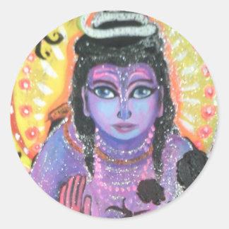 etiqueta do krishna
