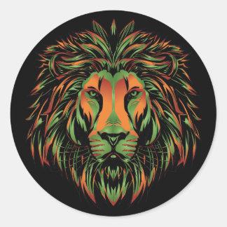 Etiqueta do leão