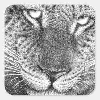 Etiqueta do leopardo