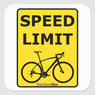 Etiqueta do limite de velocidade de Rex do