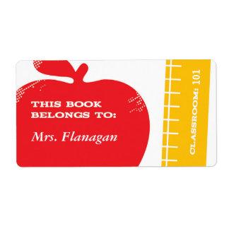 Etiqueta do livro do professor
