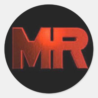 Etiqueta do logotipo de MR.MINER