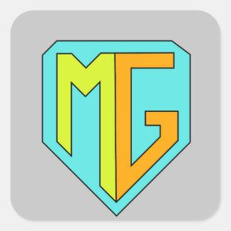 Etiqueta do logotipo do clã dos guardiães da