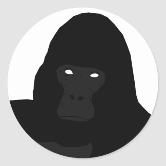 Etiqueta do macaco