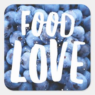 Etiqueta do mirtilo de FoodLove