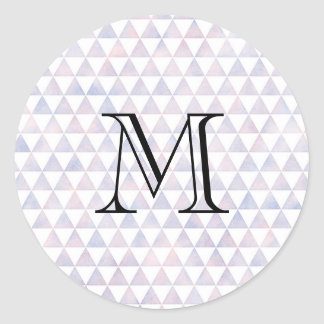 Etiqueta do monograma