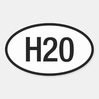 Etiqueta do motor de Datsun Nissan H20 Adesivo Oval