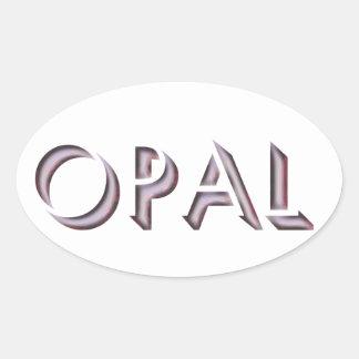 Etiqueta do Opal