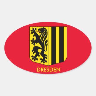 Etiqueta do Oval de Dresden, Alemanha