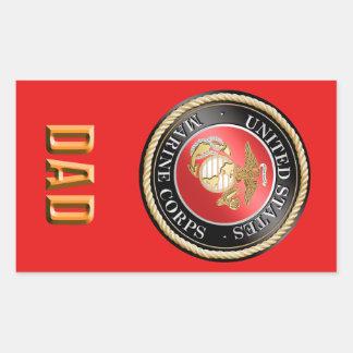 Etiqueta do pai do USMC