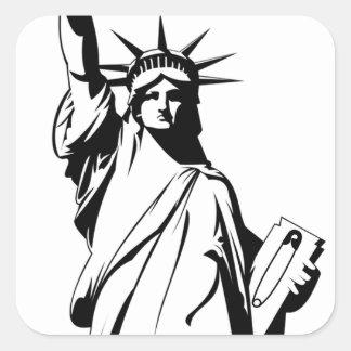 Etiqueta do Pin de segurança da liberdade