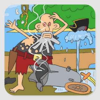 etiqueta do pirata
