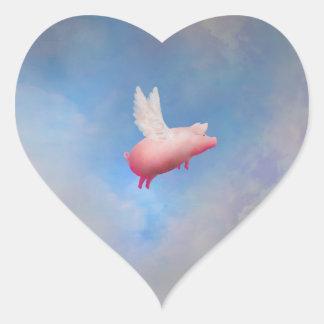 Etiqueta do porco do vôo