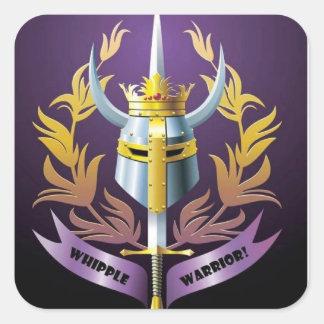 Etiqueta do quadrado do guerreiro de Whipple do