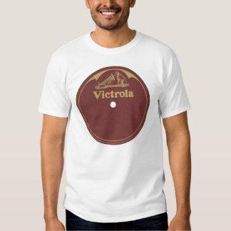 Etiqueta do registro de Victrola - vazio T-shirt