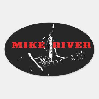 Etiqueta do rio de Mike