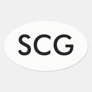 Etiqueta do SCG